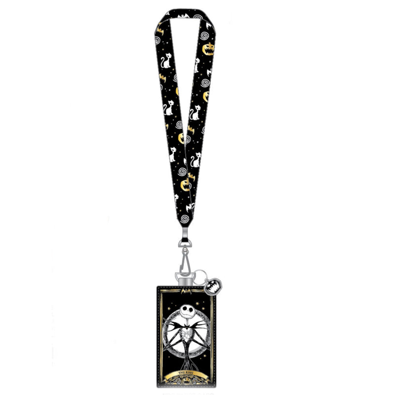 Nightmare before Christmas Tarot Lanyard