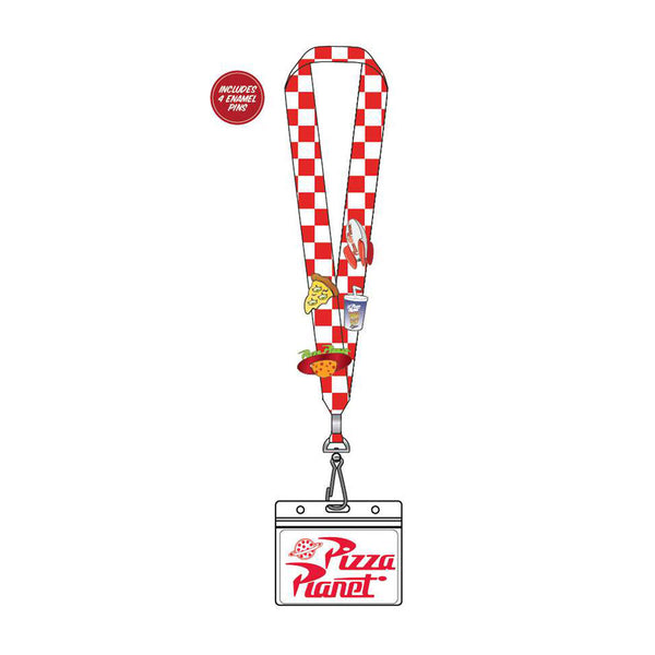 Toy Story Pizza Planet Pin Lanyard