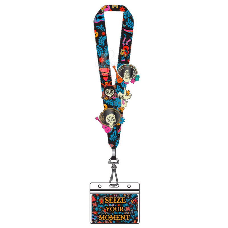 Coco Seize Your Moment Lanyard With 4 Enamel Pins