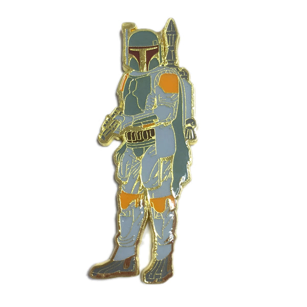 Boba Mandalorian Clan of Two Pin  - Limited Edition of 600