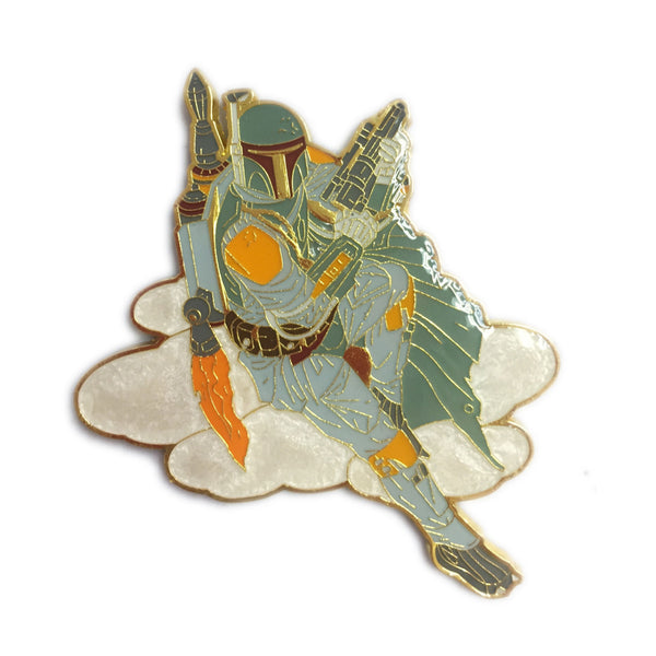 Boba Mandalorian Secure the Asset Pin - Limited Edition of 600