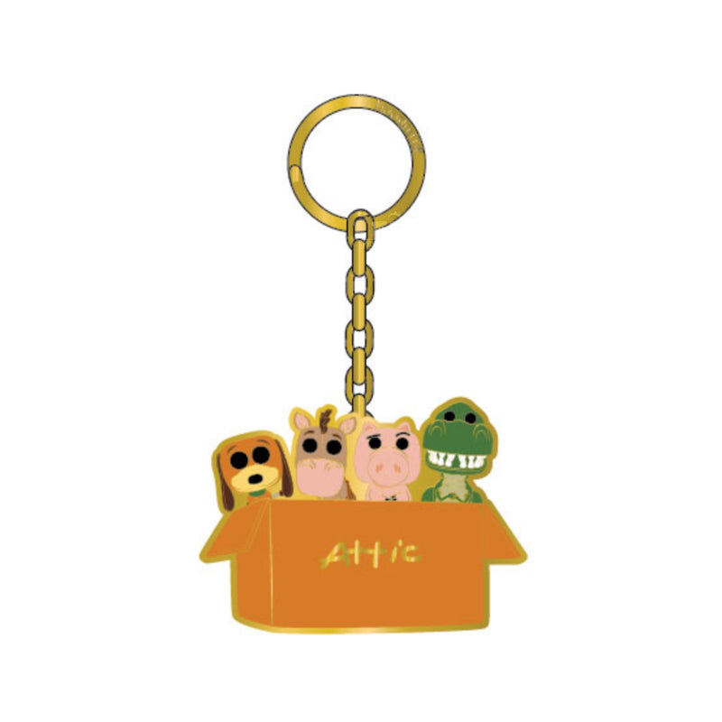 Toy Story Attic Keychain