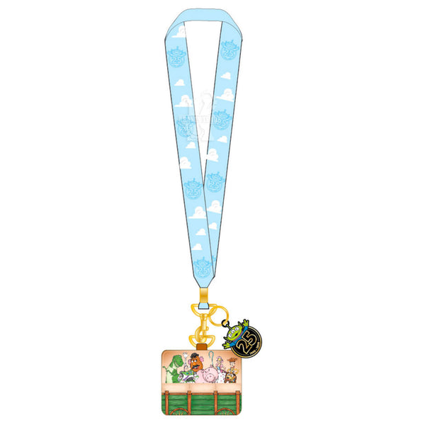 Toy Story 25th Anniversary Pin Lanyard with Cardholder