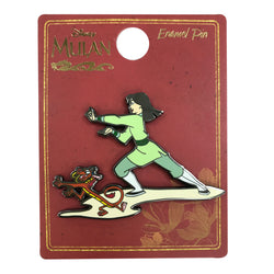 Mulan and Mushu in Training Pin - Limited Edition 600