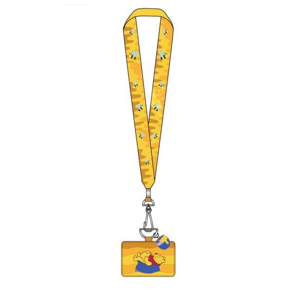 Winnie the Pooh Floating in Honey Pot Lanyard
