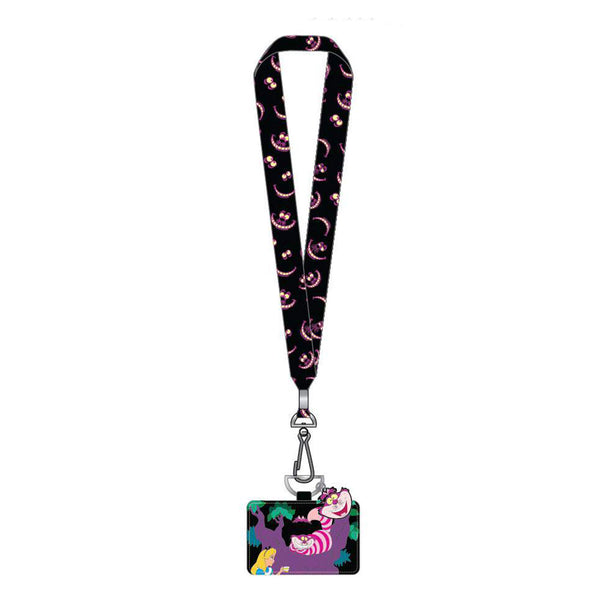 Alice in Wonderland Disney Pin Lanyard
