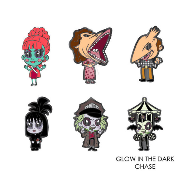 Beetlejuice Blind Box Pins