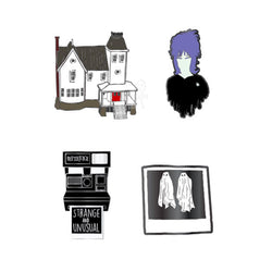 Beetlejuice 4pc Pin Set