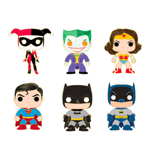 Pop! DC Comics Blind Box Pins