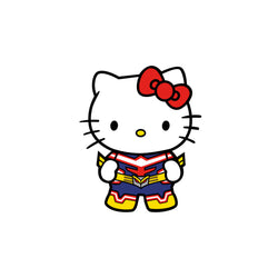 Hello Kitty All Might Pin (#391)