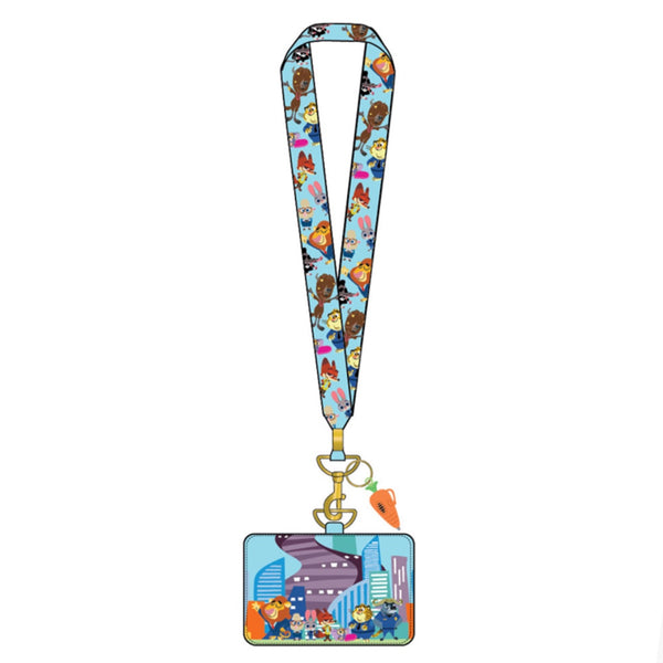 Zootopia Lanyard with Cardholder