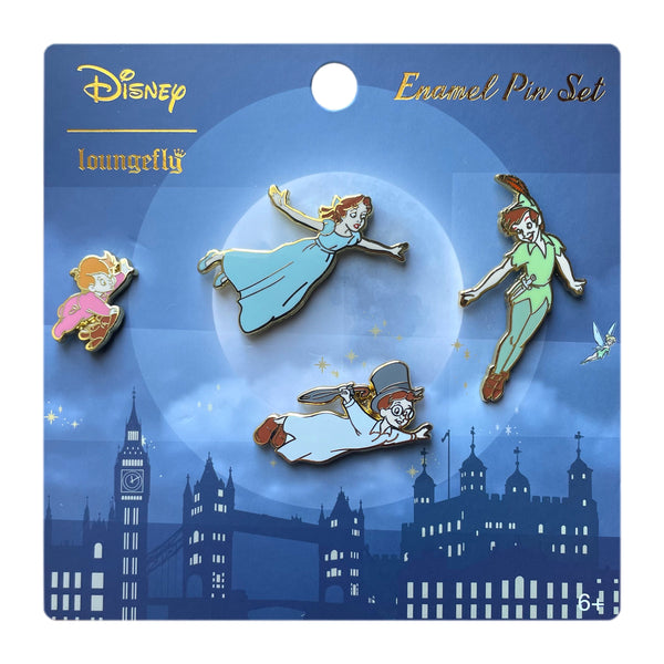 Peter Pan 4 Pcs Pin Set