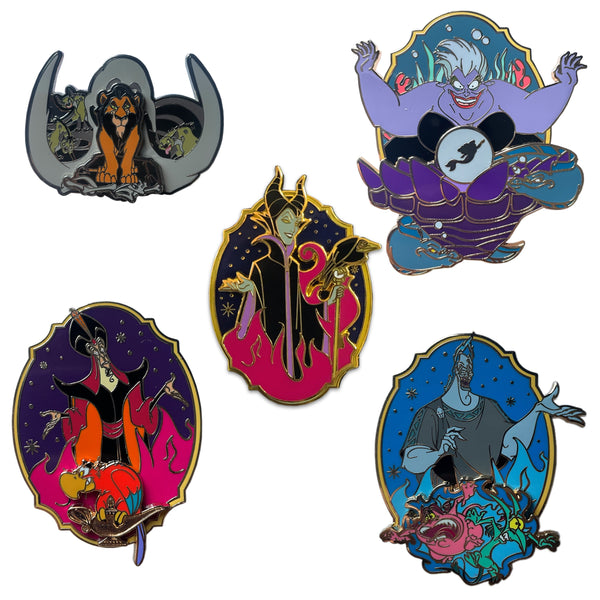 Villains Crest Set