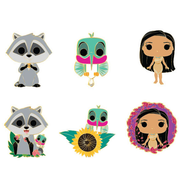 Pocahontas Blind Box Hard Enamel Pins
