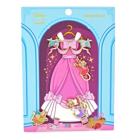 Cinderalla Disney Pins 4 Pcs Set