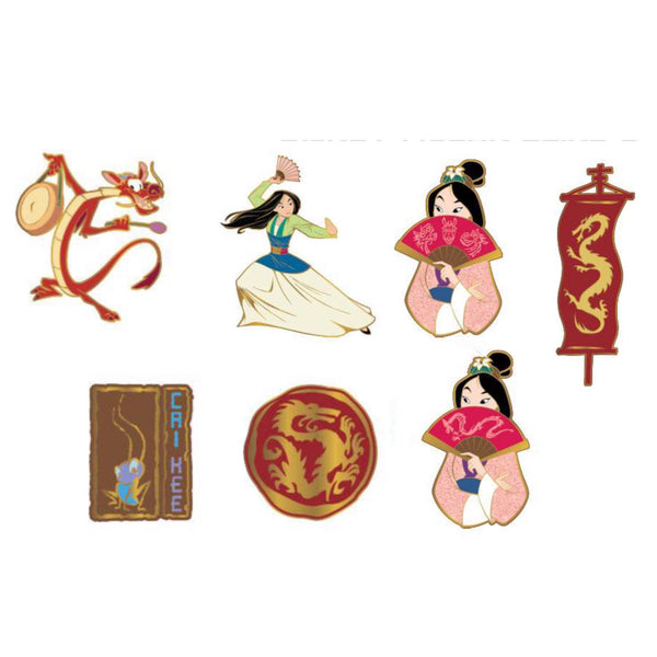 Mulan Blind Box Disney Pins