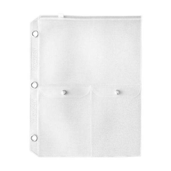 Dual Pocket Zippered Divider