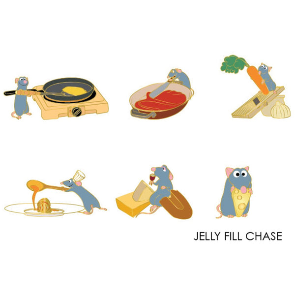 Ratatouille Blind Box Hard Enamel Pins
