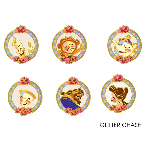 Beauty and the Beast Blind Box Hard Enamel Pins