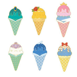Disney Princess Ice Cream Cone Blind Box Disney Pins