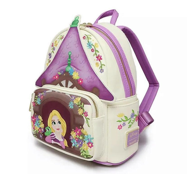 Rapunzel Tower Scene - Loungefly Mini Backpack