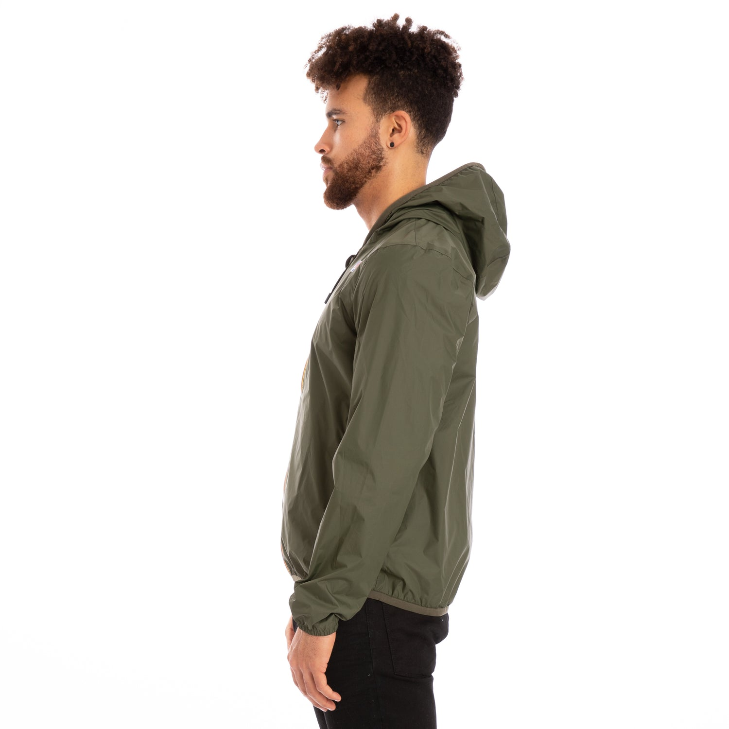 K-Way Men's Jacques Reversible Plus Double Inserted Jacket Green Africa