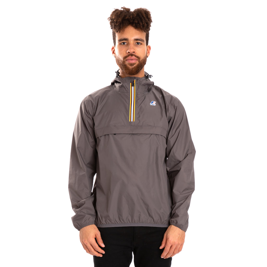 K-Way Men's Le Vrai 3.0 Leon Jacket Grey Smoke