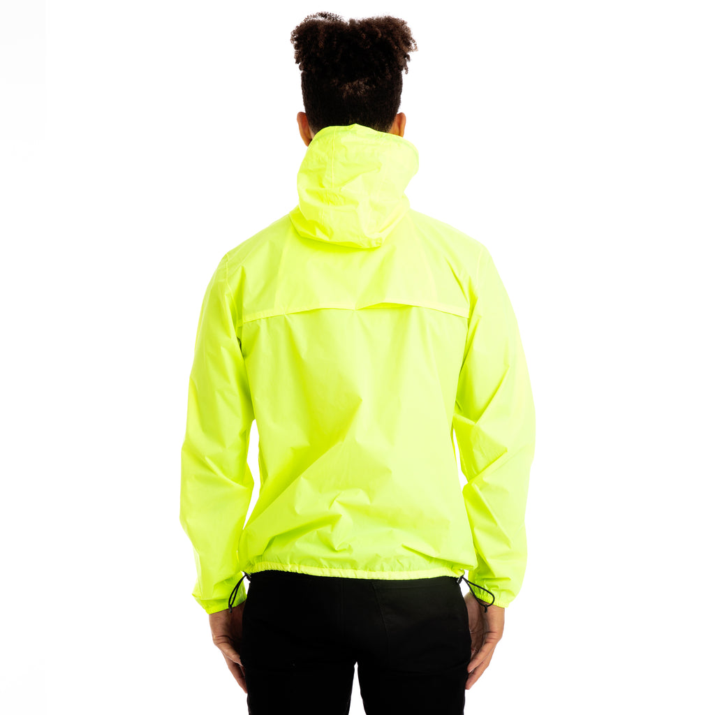 K-Way Mens Le Vrai 3.0 Claude Jacket Yellow Fluo