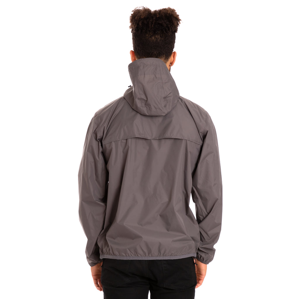 Men's Le Vrai 3.0 Leon Half Zip Jacket Grey Smoke