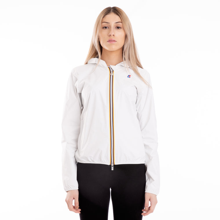 Women's Lil Plus Dot Full Zip Jacket White Snow