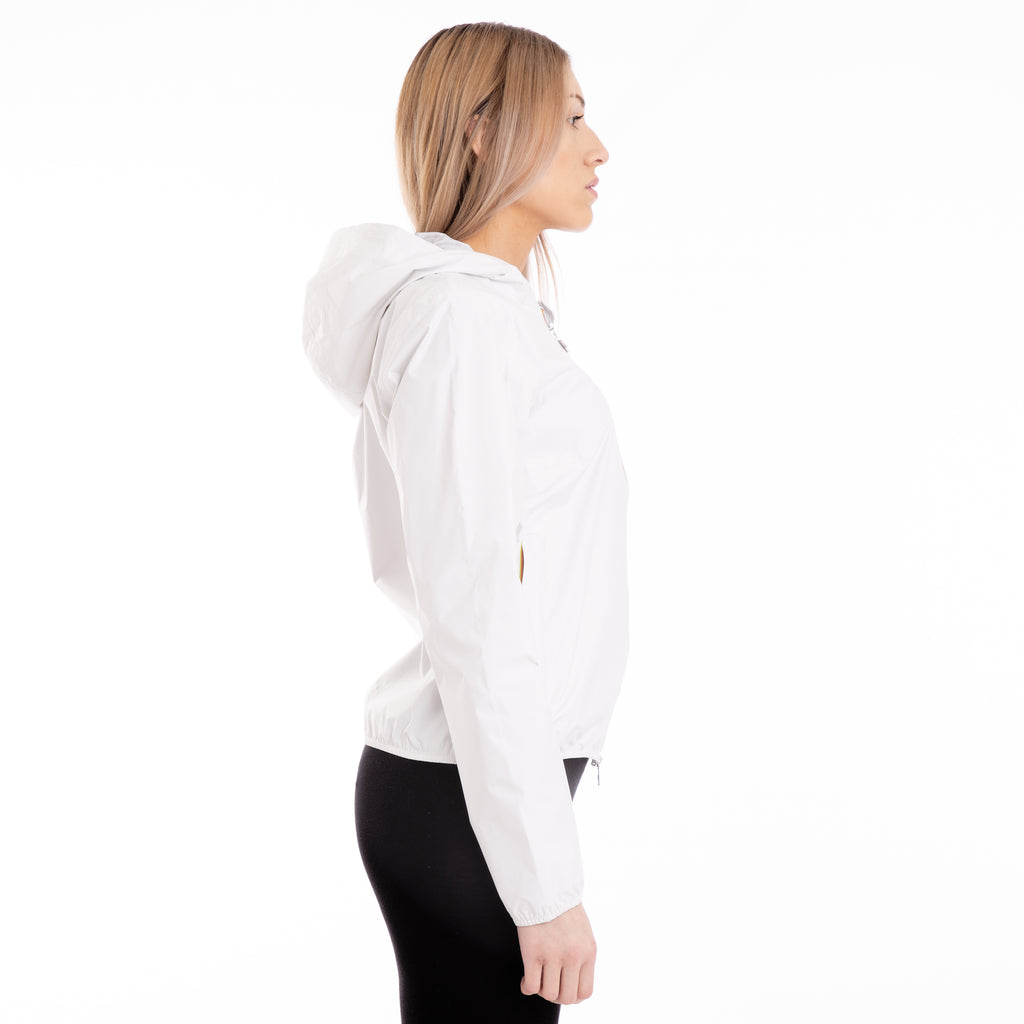 K-Way Women's Lil Plus Dot Jacket White Snow