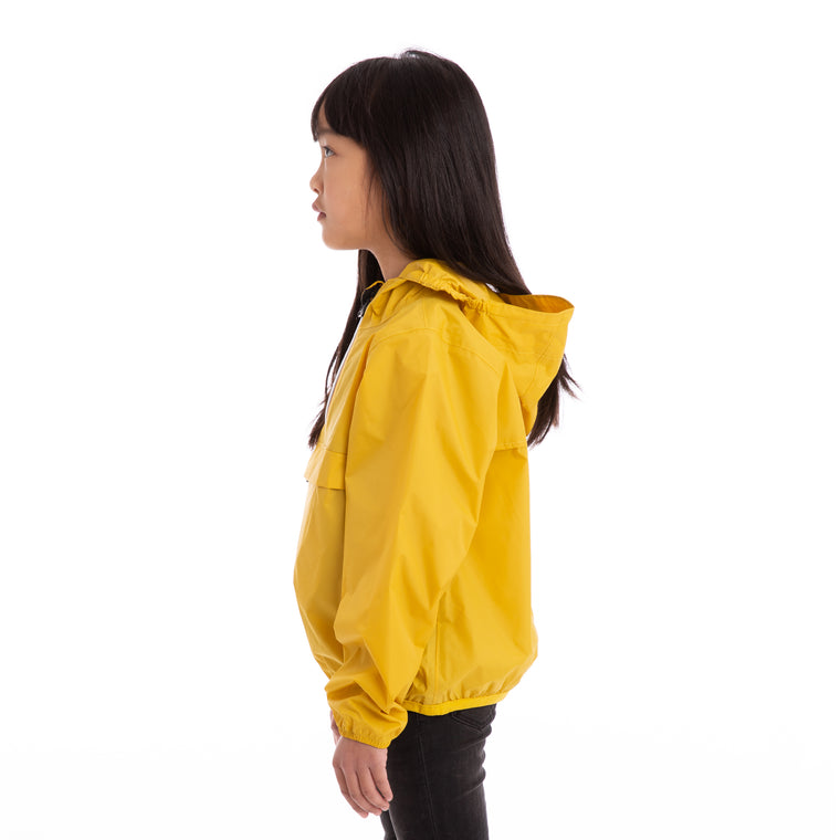K-Way Kids Le Vrai 3.0  Leon Jacket Yellow Mustard