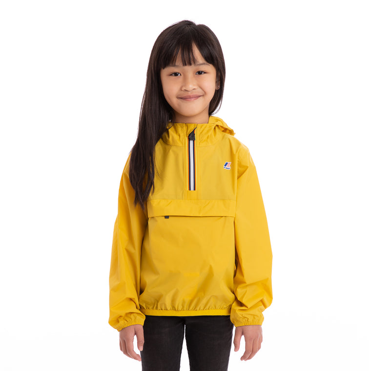 Kids Le Vrai 3.0  Leon Half Zip Jacket Yellow Mustard