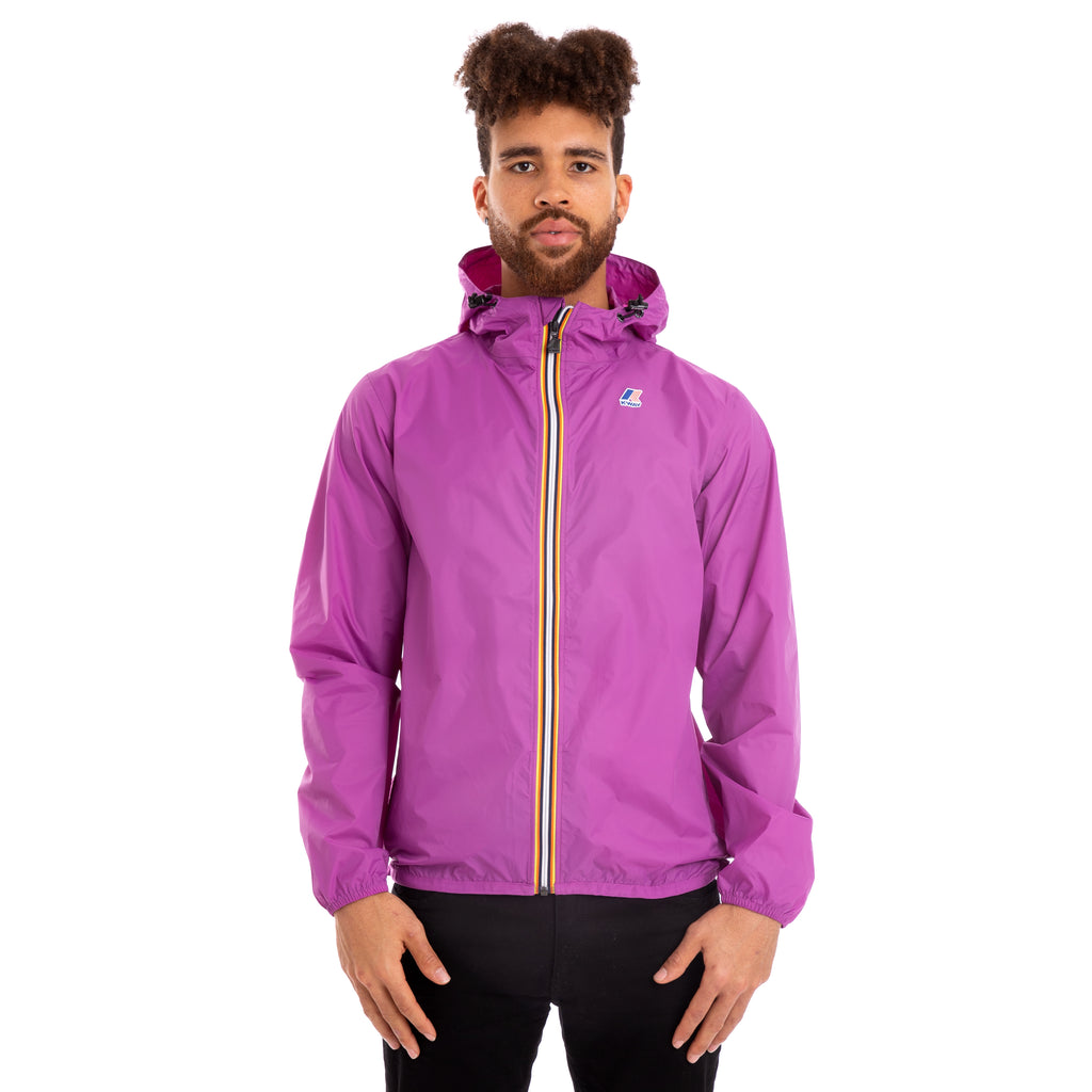 K-Way Men's Le Vrai 3.0 Claude Jacket Violet