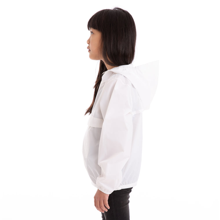 K-Way Kids Le Vrai 3.0  Leon Jacket White