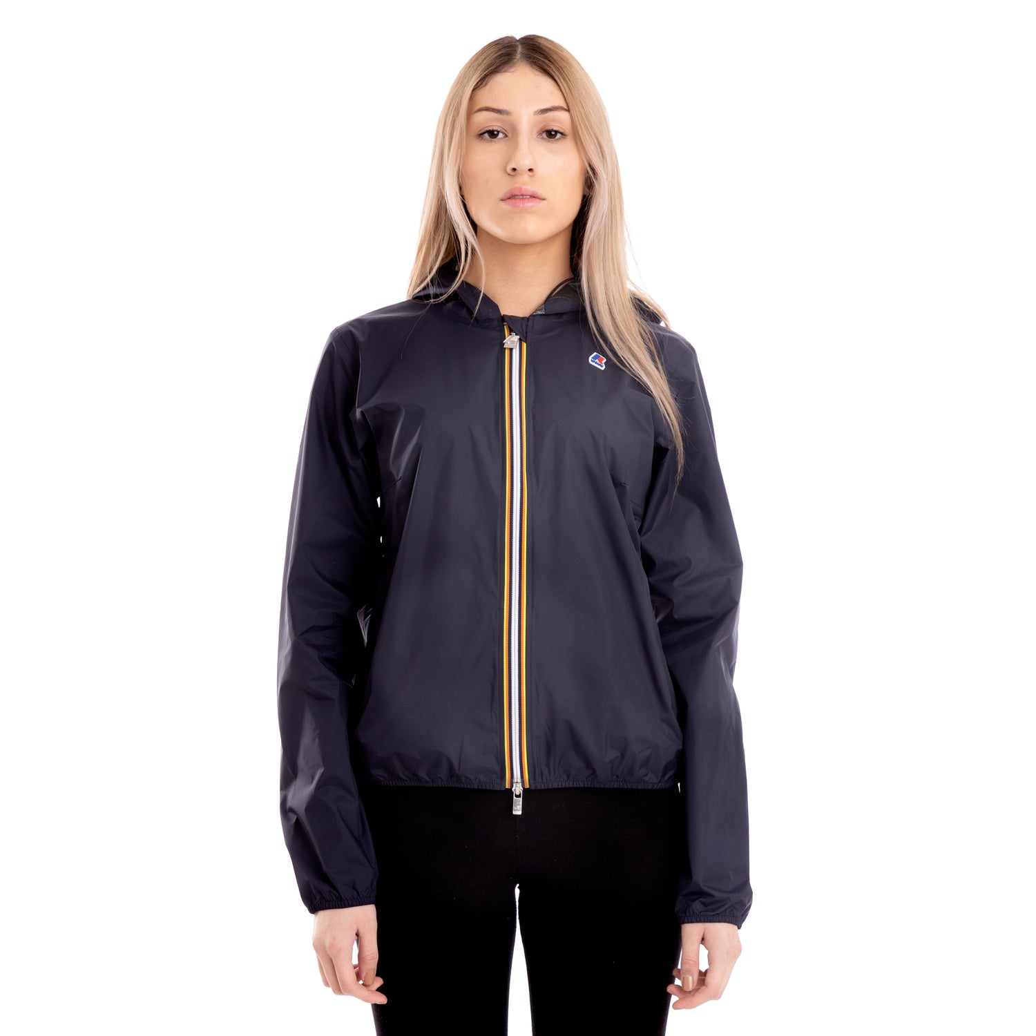 K-Way Women's Lil Plus Dot Jacket Blue Depth