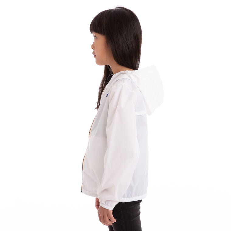 K-Way Kids Le Vrai 3.0 Claude Jacket White