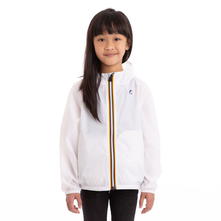 Kids Le Vrai 3.0 Claude Full Zip Jacket White