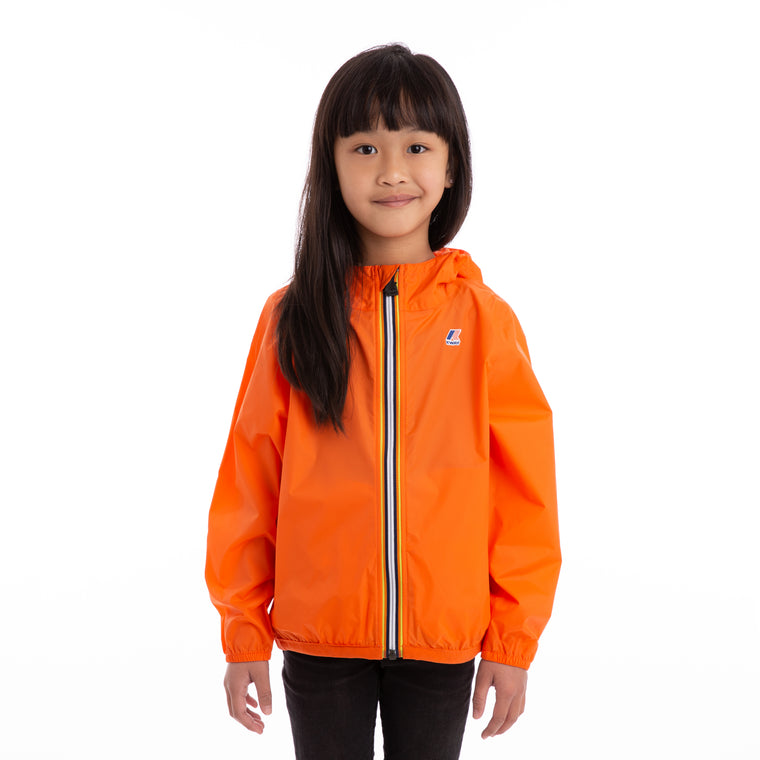 Kids Le Vrai 3.0 Claude Full Zip Jacket Orange Flame