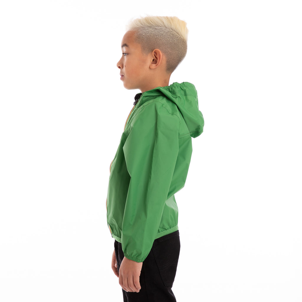 K-Way Kids Le Vrai 3.0 Claude Jacket Green Md