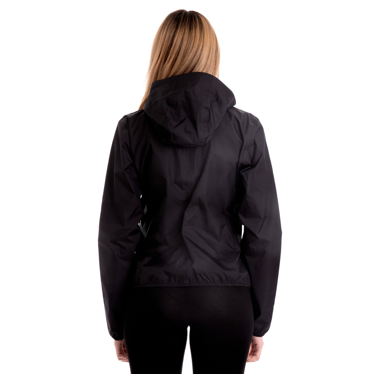 K-Way Women's Lil Plus Dot Jacket Black