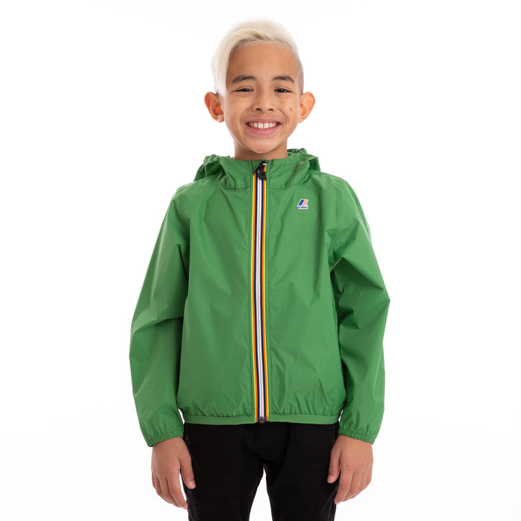 Kids Le Vrai 3.0 Claude Full Zip Jacket Green Md