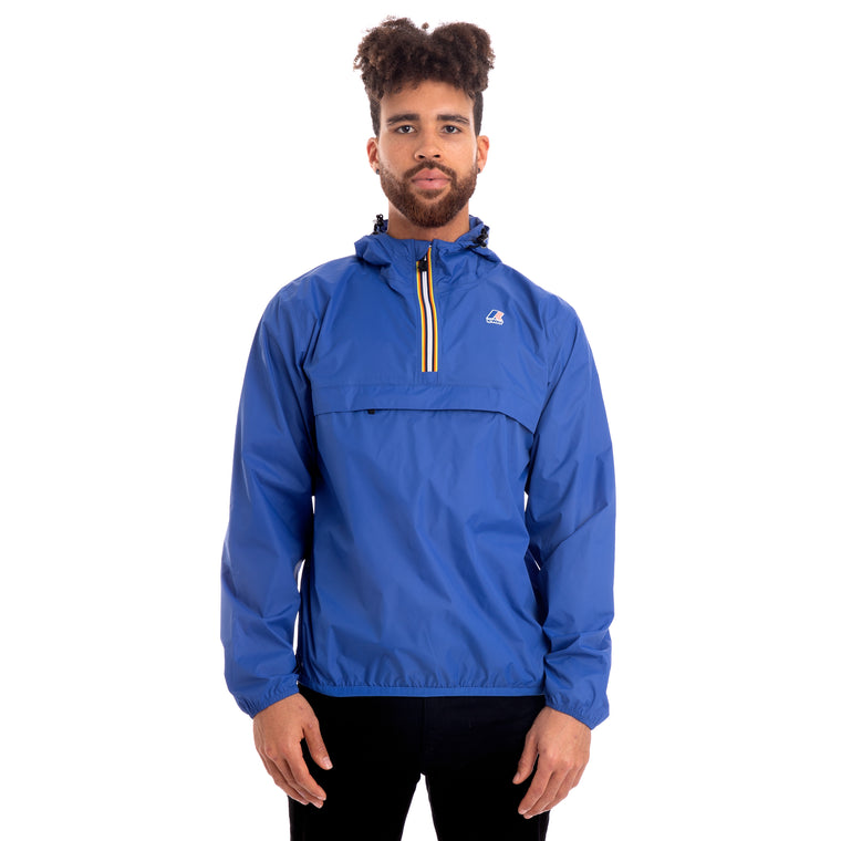 Men's Le Vrai 3.0 Leon Half Zip Jacket Blue Royal