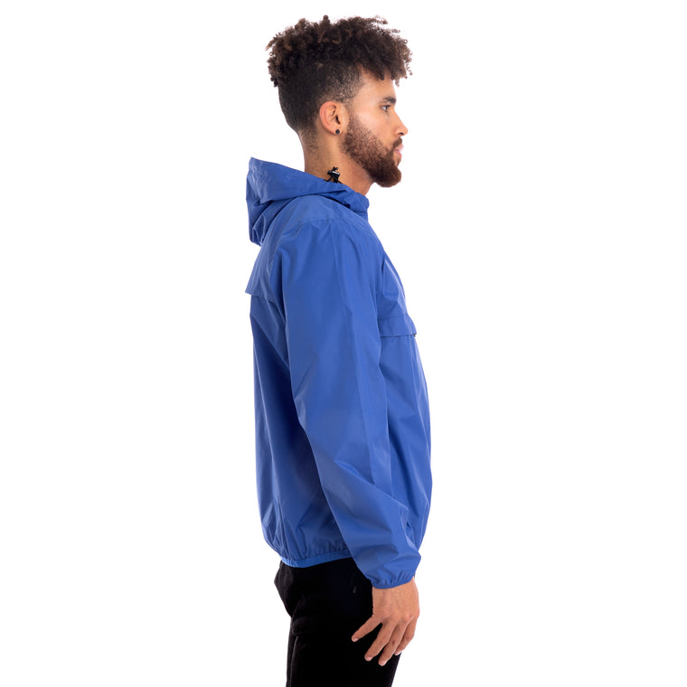 K-Way Men's Le Vrai 3.0 Leon Jacket Blue Royal