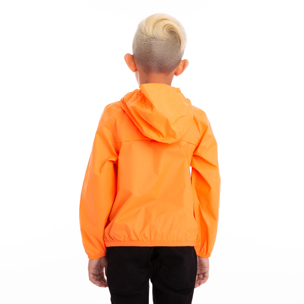 K-Way Kids Le Vrai 3.0 Claude Jacket Orange Extrafluo