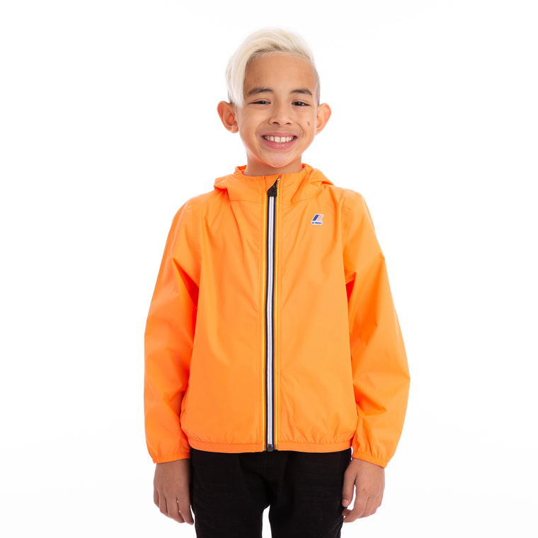 Kids Le Vrai 3.0 Claude Full Zip Jacket Orange Extrafluo