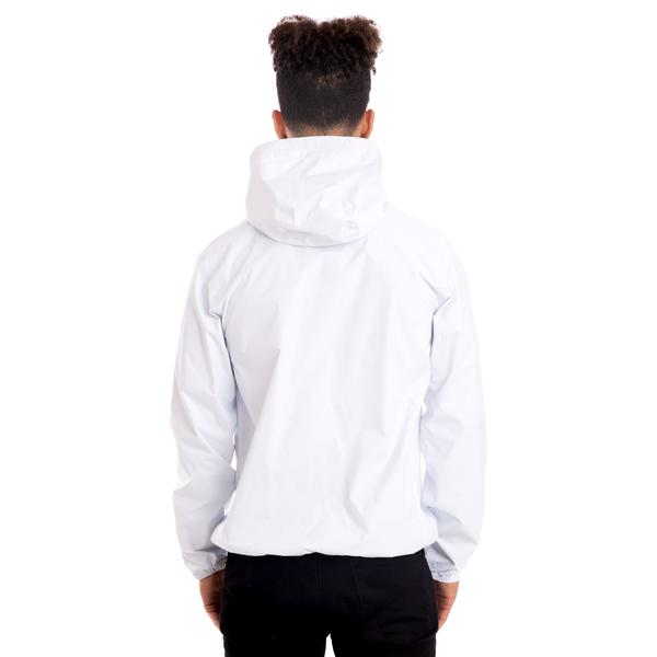 K-Way Men's Le Vrai 3.0 Claude Full Zip Jacket White