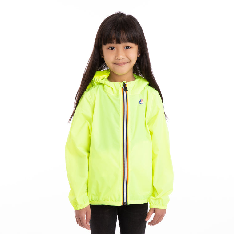 Kids Le Vrai 3.0 Claude Full Zip Jacket Yellow Fluo