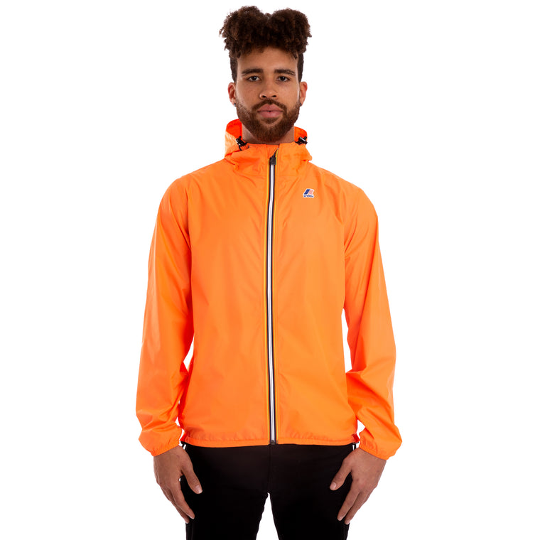 Men's Le Vrai 3.0 Claude Full Zip Jacket Orange Extrafluo