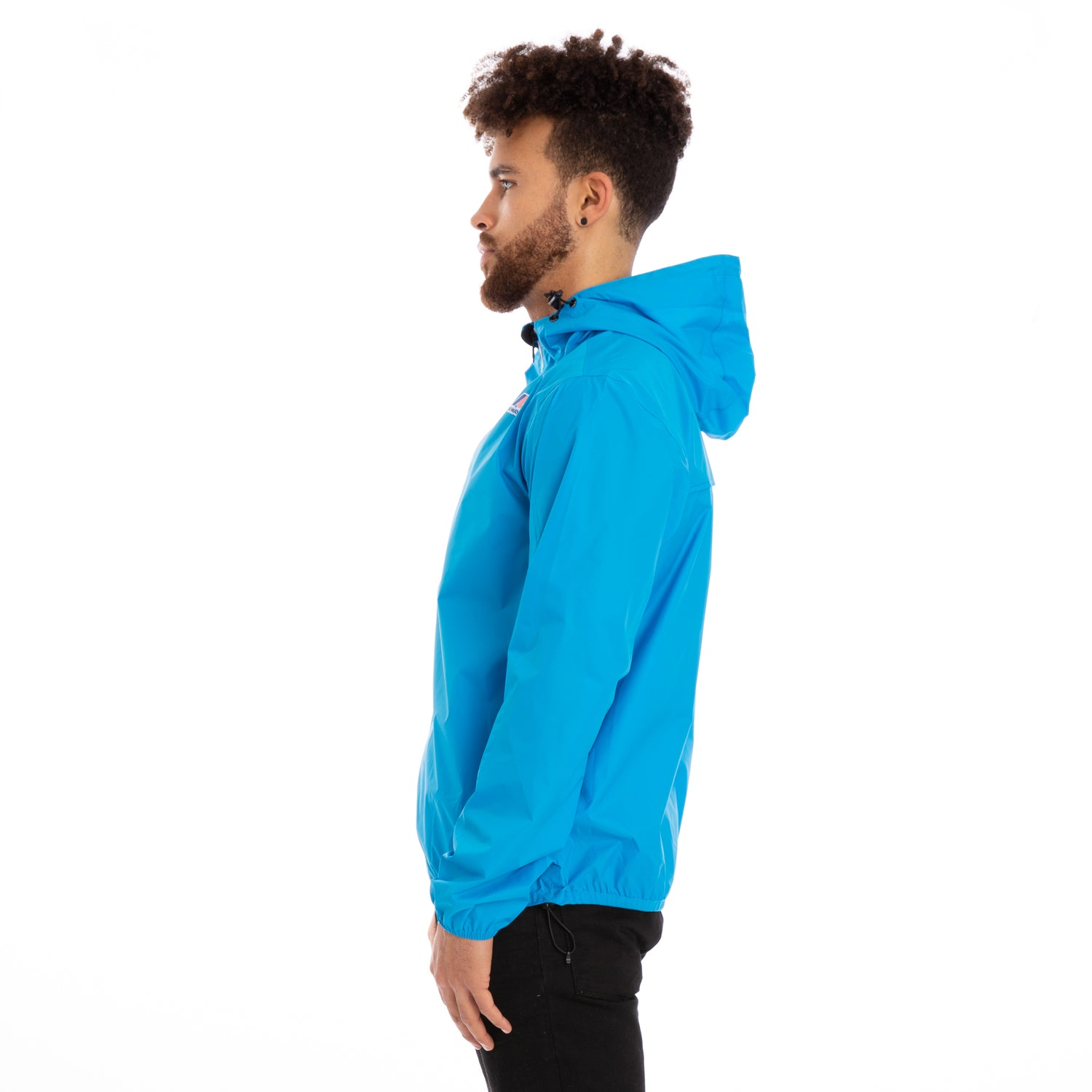 K-Way Men's Le Vrai 3.0 Claude Jacket Blue California
